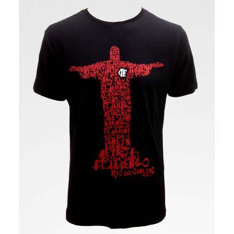 20943a4cc5 camisa-flamengo-braziline-exclusiva-cristo-preta