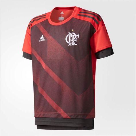 camisa-infantil-flamengo-pre-jogo-vermelho-adidas-1