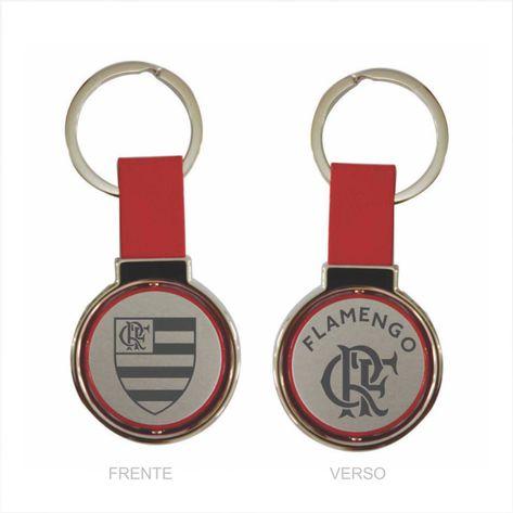 chaveiro-flamengo-giratorio-couro-vermelho-escudo-e-crf
