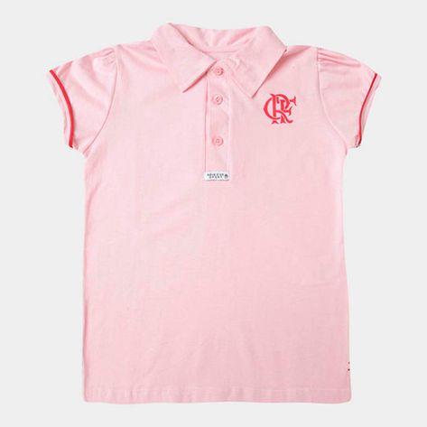 polo-flamengo-infantil-rosa