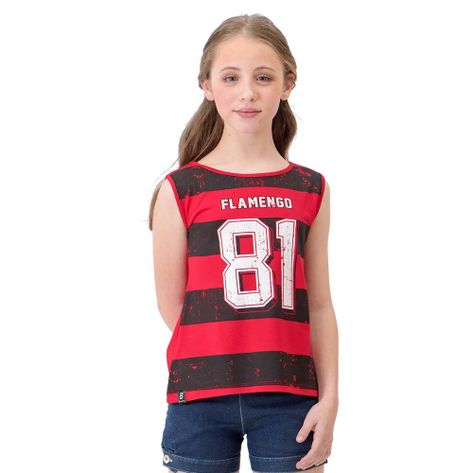 Regata Infantil Flamengo Magic Braziline - flamengo fb7dc5eb51cf7