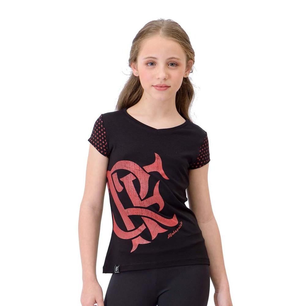 Camiseta Infantil Flamengo Joy - flamengo 3f2baec0d9c