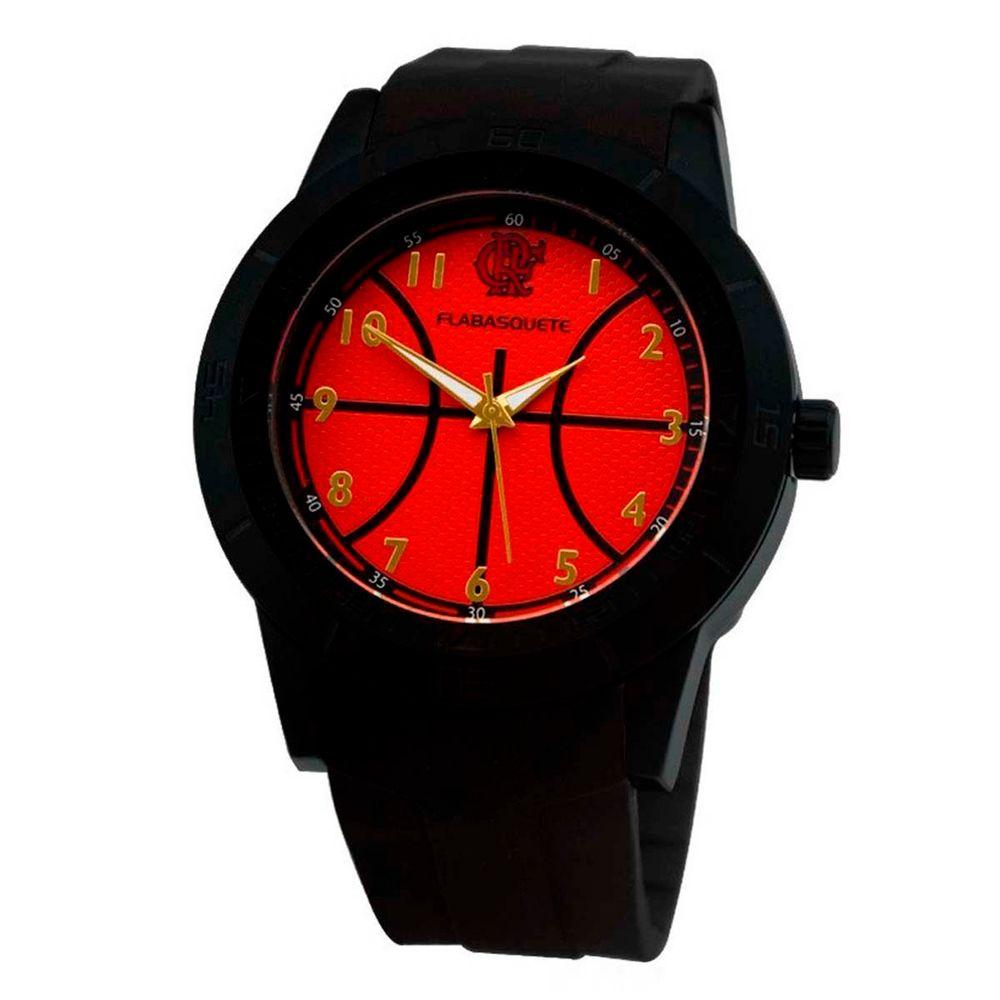 b6a0f577f9b29 Relógio Flamengo Basquete MO2315AB P - flamengo