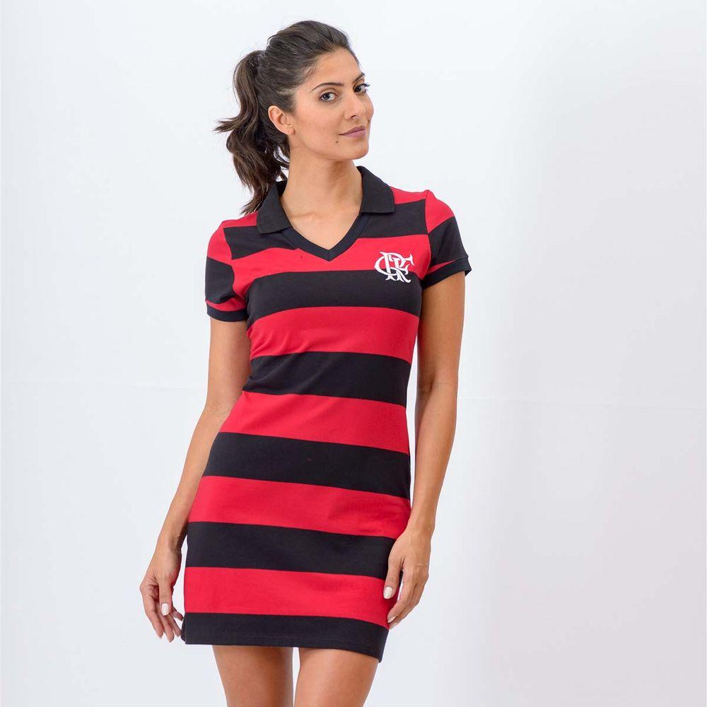 5464bb107 Vestido Flamengo Milly CRF Braziline - flamengo