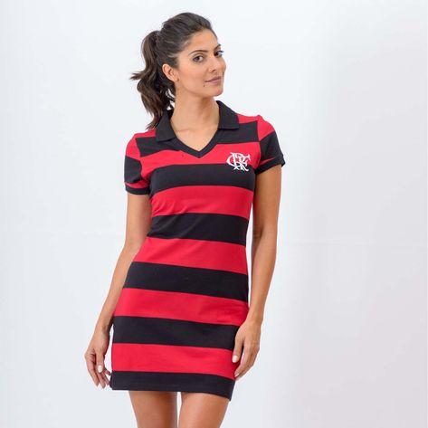 c44686f06c Vestido Flamengo Secret Braziline - flamengo