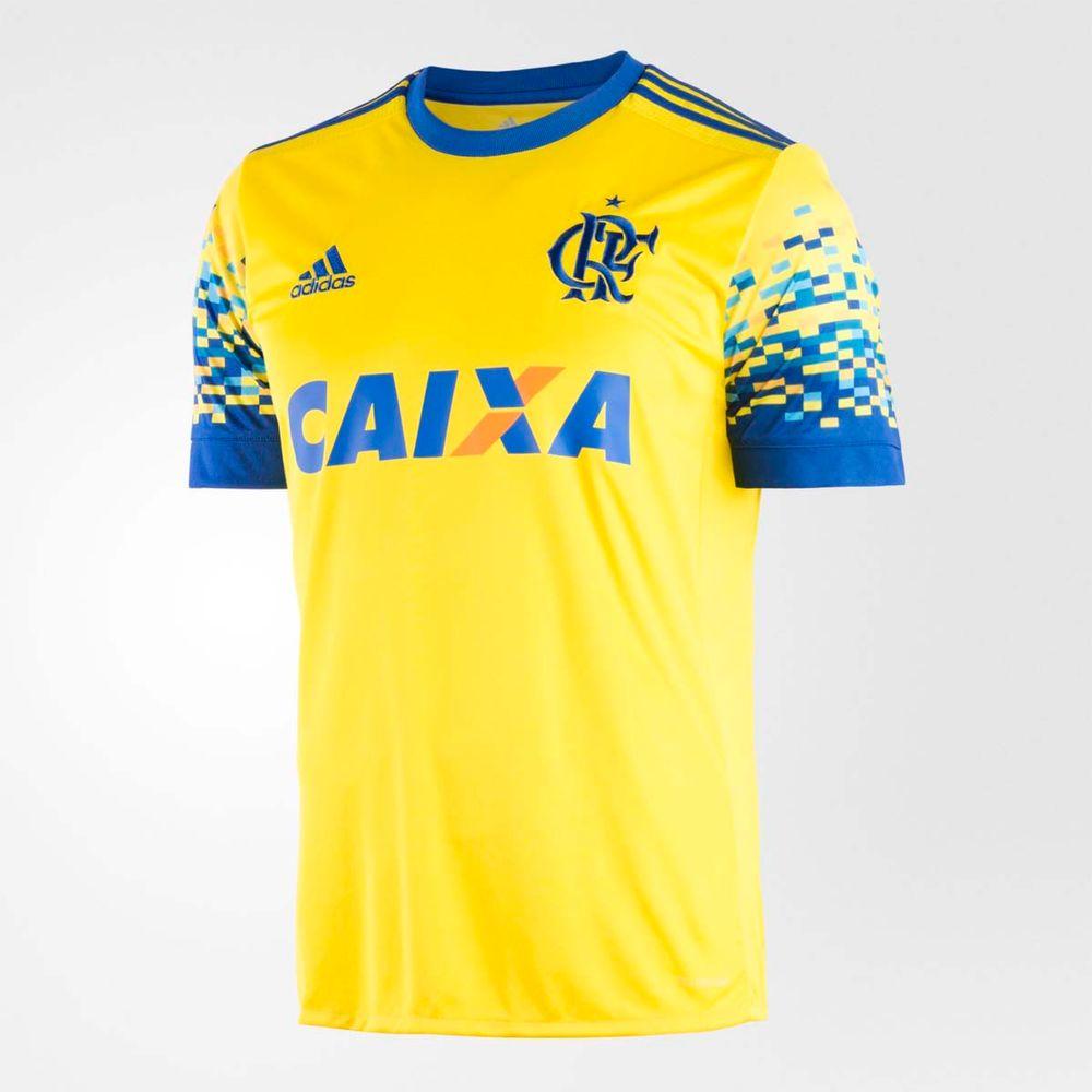 Camisa Flamengo Oficial 3 2017 - flamengo dcb9036a8a5dd