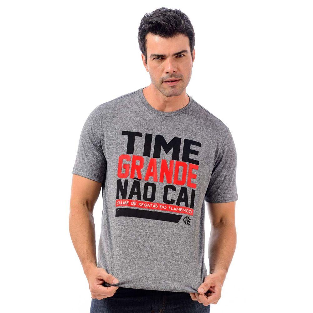 Camisa Flamengo Time Grande Não Cai - flamengo a168b9d5117a9