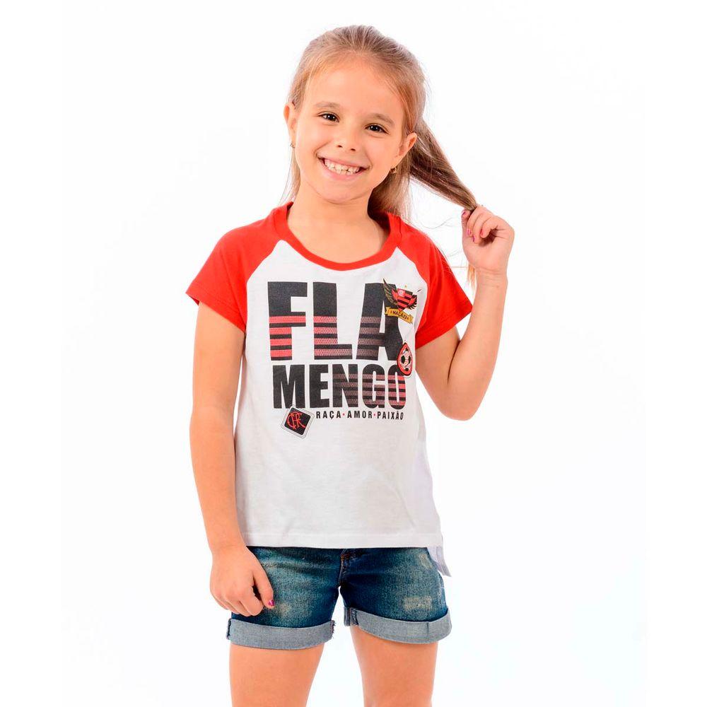 a251400a1e760 Blusa Flamengo Infantil School - flamengo