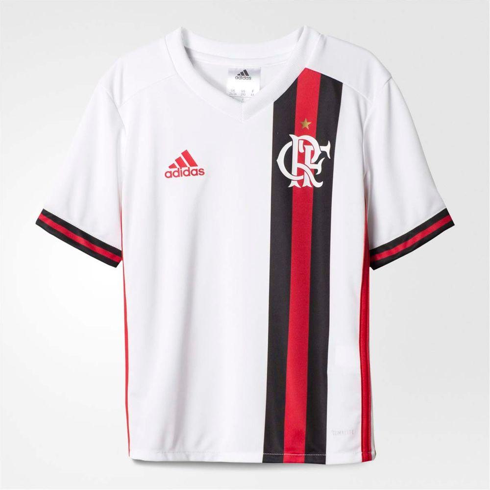 00ab98ab83 Camisa Infantil Flamengo Oficial 2 Adidas 2017 - flamengo
