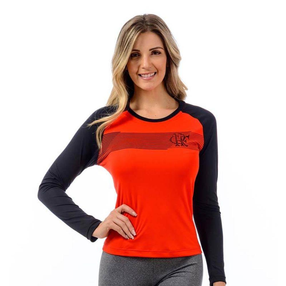 c64dd2932 Camisa Flamengo Feminina Raglan Zone - flamengo
