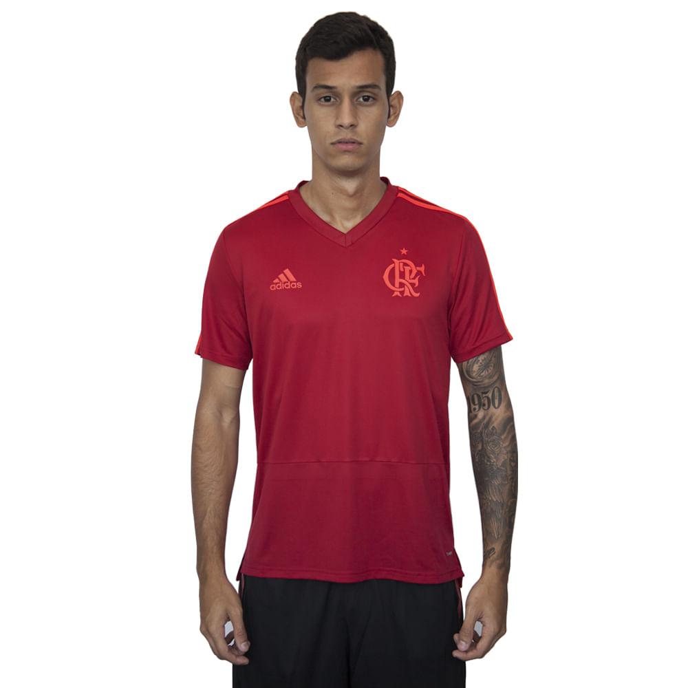 Camisa-Flamengo-Treino-Vermelha-Adidas-2018 - flamengo e59ed170143fa