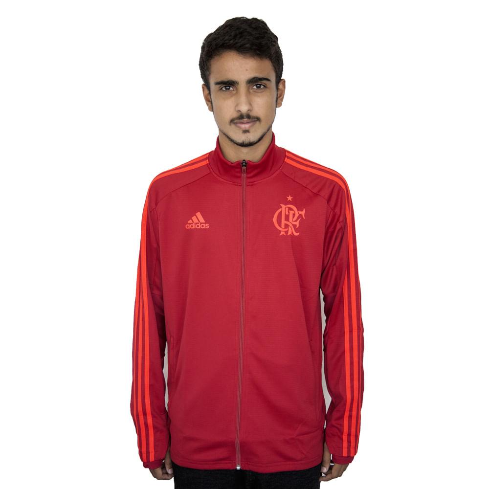 Jaqueta Flamengo Treino Adidas 2018 Vermelha - flamengo 99acd763008e0