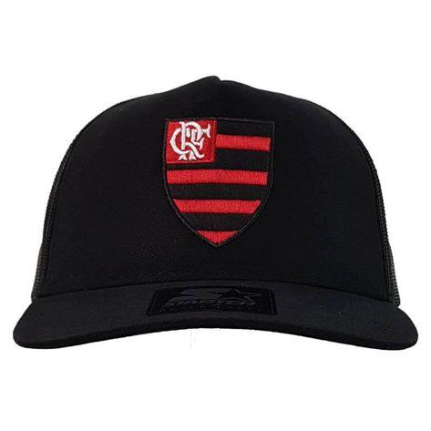 Boné Flamengo AMR Trucker Logo Oficial Starter - flamengo ebd82a76ba861
