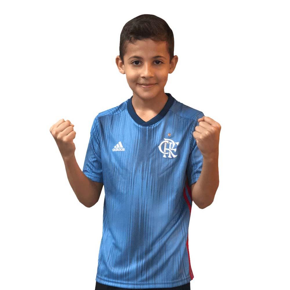 e213973bc3 Camisa Flamengo Infantil Oficial 3 Adidas 2018 - flamengo