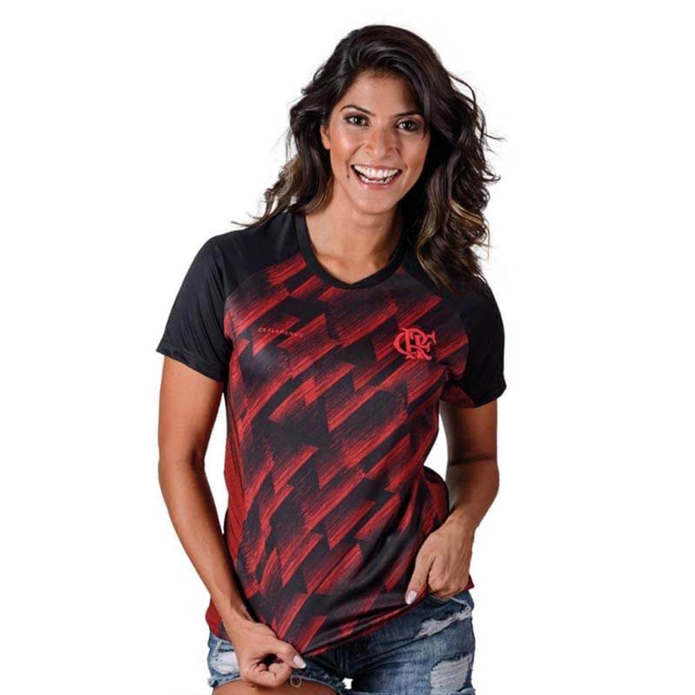 662723d74 Camisa Flamengo Feminina Upper Braziline - flamengo