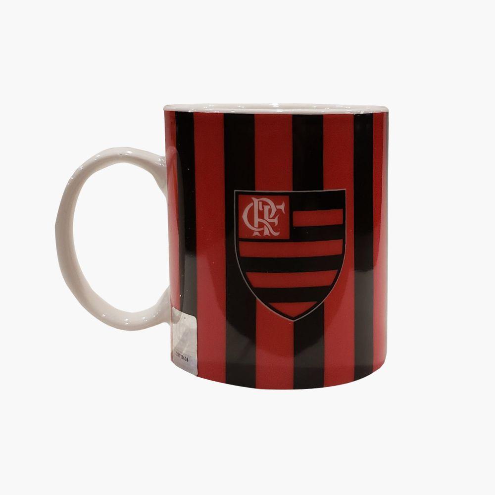 Caneca Flamengo Porcelana CRF e Escudo - flamengo 8a1d208b90139