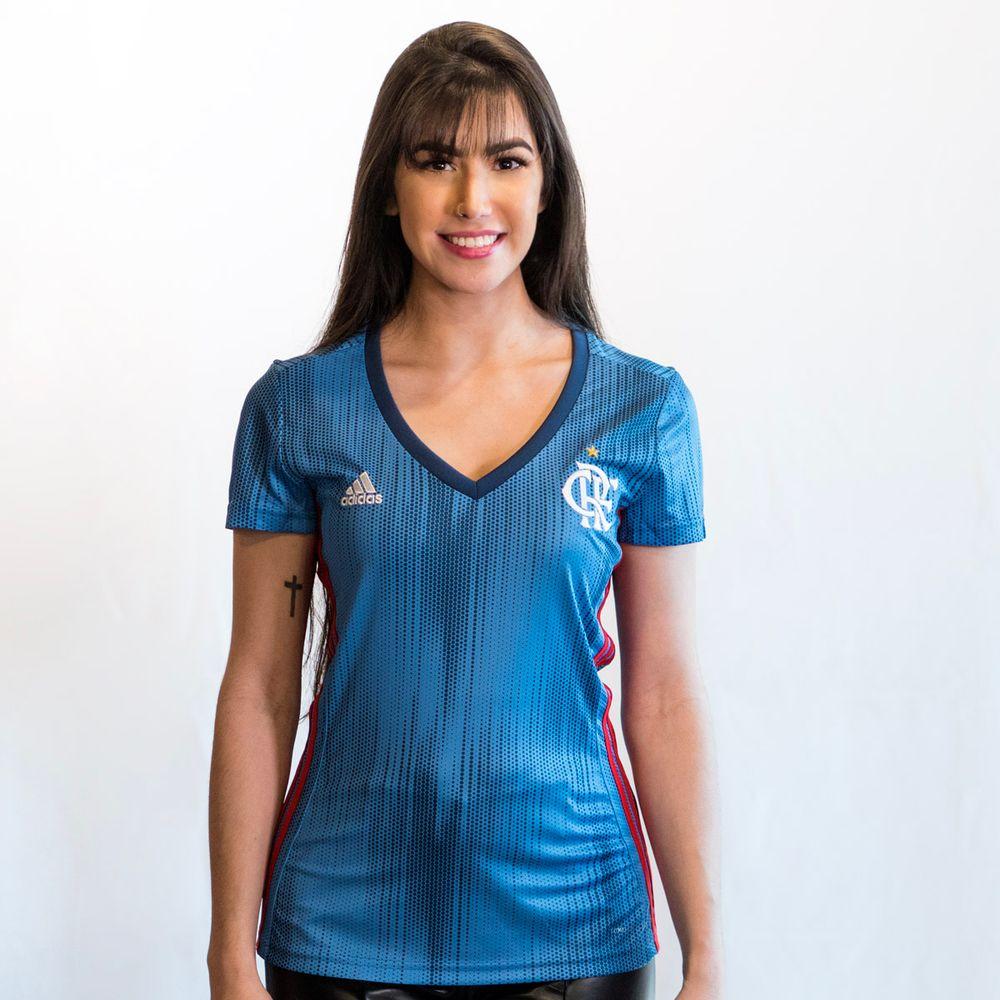 d12b2b04f8 Camisa Flamengo Feminina Jogo 3 Adidas 2018 - flamengo