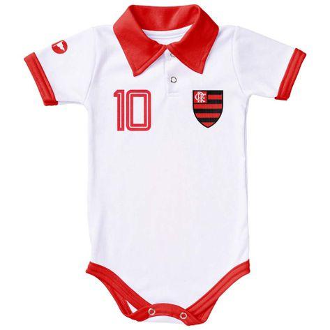 body-flamengo-polo-branco-58132-1. Body Flamengo Polo Branco Torcida Baby  ... e8791f470c259