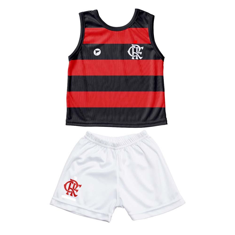 5942b4927 Conjunto Flamengo Infantil Regata / Short Torcida Baby - flamengo