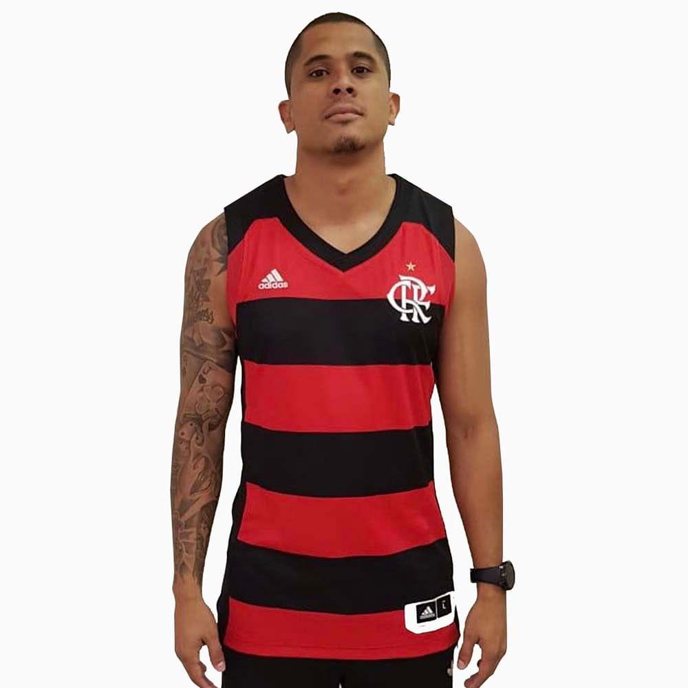 d7061b8d9 Regata Flamengo Basquete Home Adidas 18 19 - flamengo