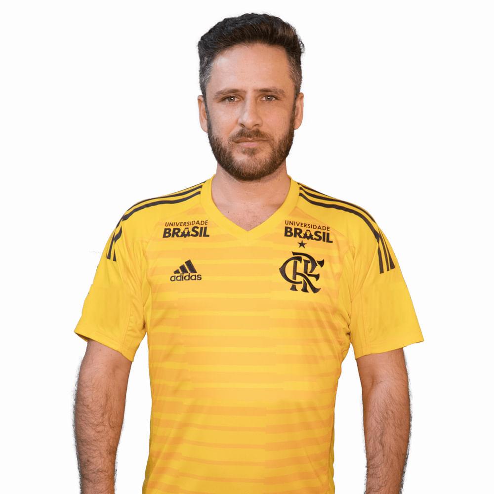 Camisa Flamengo Goleiro 1 Adidas 2018 - Com Patrocínios ... cdcf87d7d0d9b