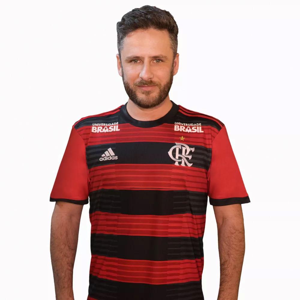 Camisa Flamengo Jogo 1 Patrocínios Adidas 2018 - flamengo a22abba77bc71