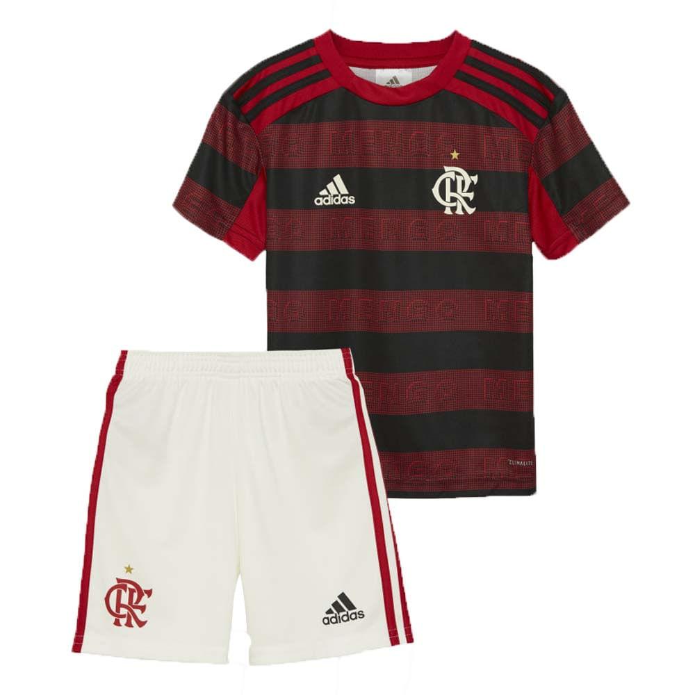 9593cd35fe Mini Kit Flamengo Jogo 1 Adidas 2019 - flamengo