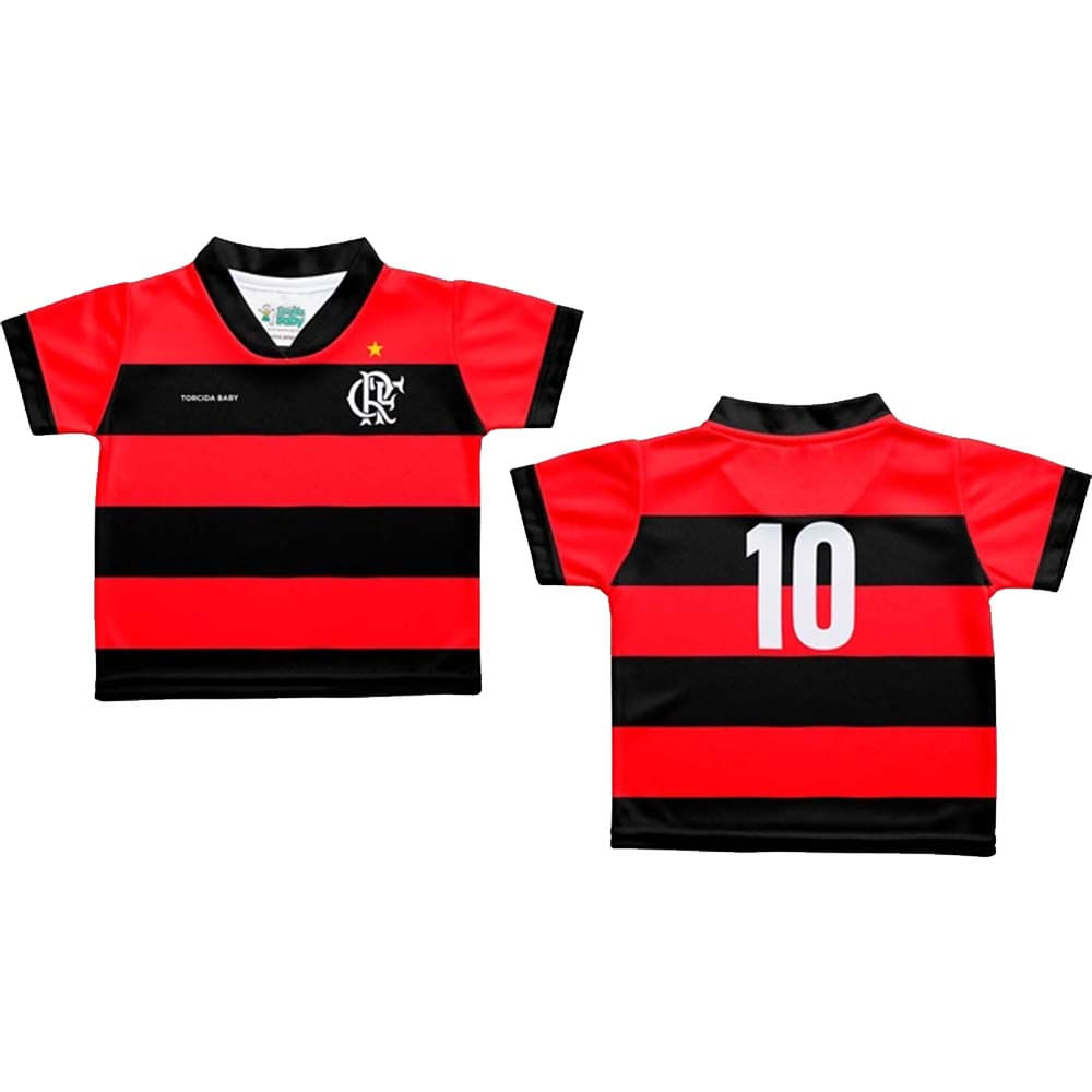 Camisa Flamengo Baby Sublimada Torcida Baby Flamengo