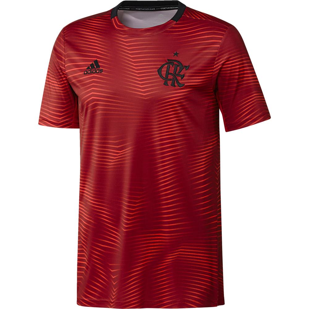 1c907b8e77e74 Camisa Flamengo Pré Jogo I Adidas 2019 - flamengo