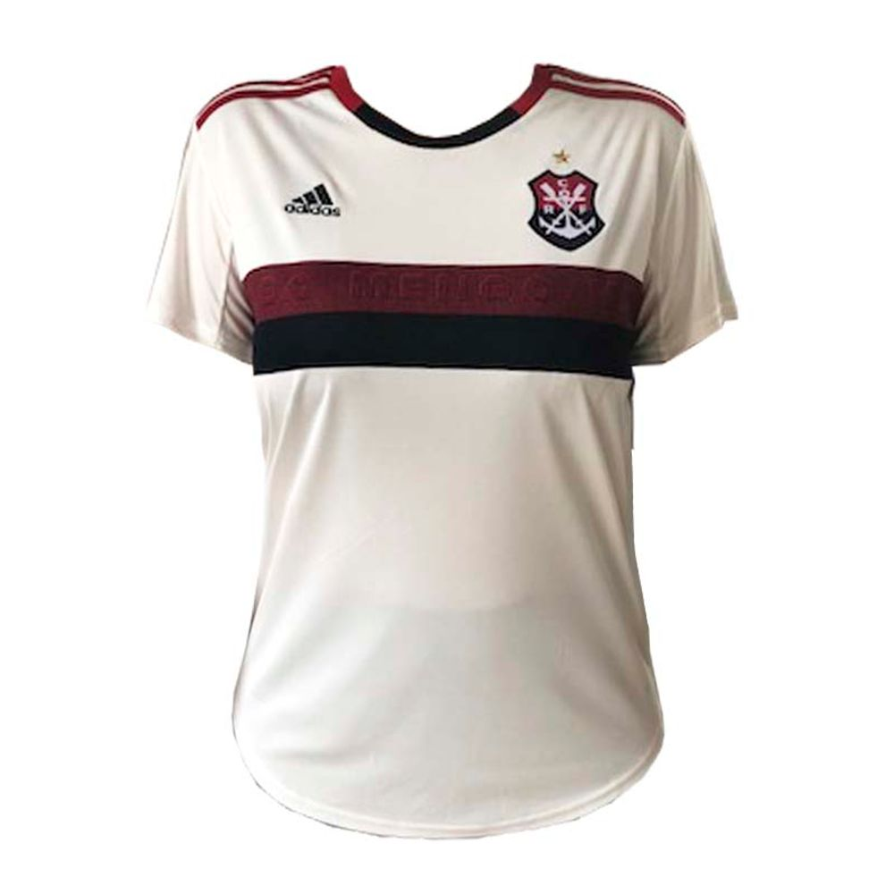 e33371929e Camisa Flamengo Feminina Jogo 2 Adidas 2019 - flamengo
